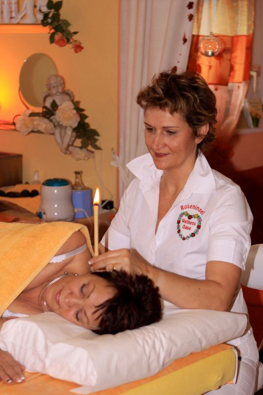 Kerzen - Wellness-Oase Roseninsel
